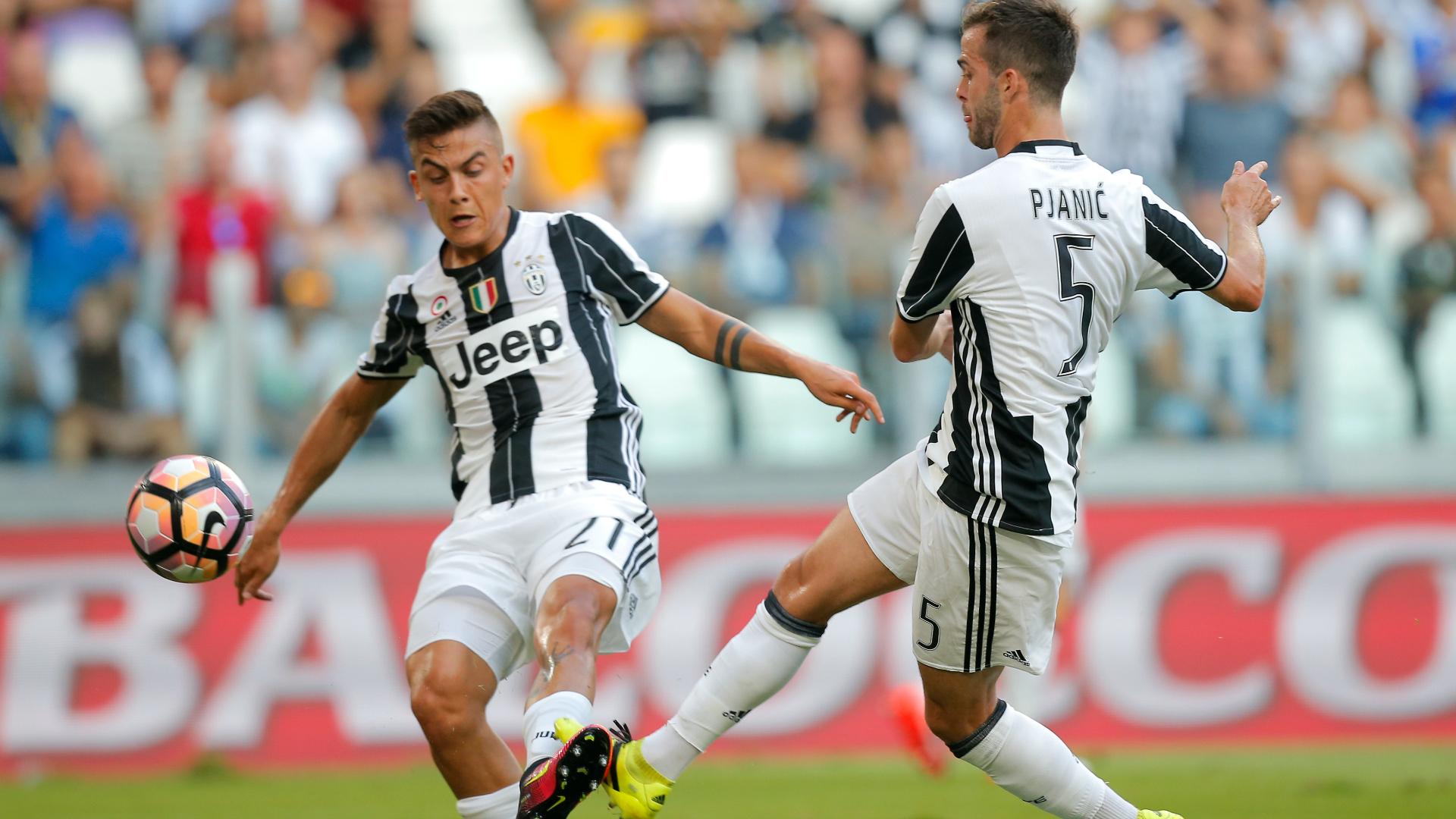 Paulo Dybala e Miralem Pjanić, Juventus