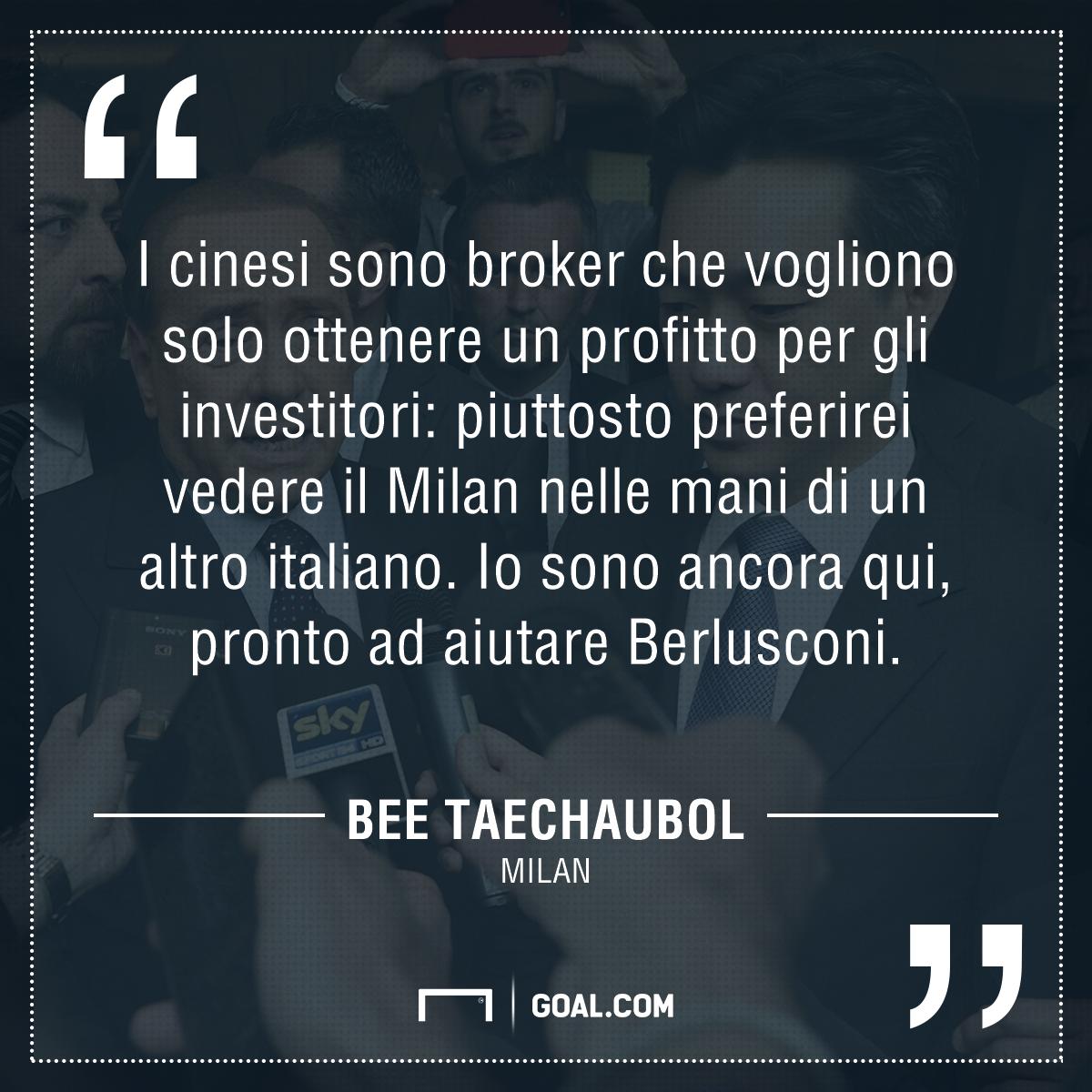 Cessione Milan, rispunta Mr Bee con una clamorosa offerta