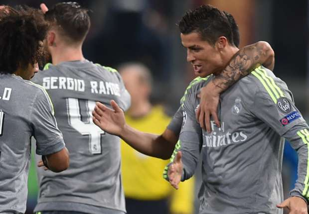 Zidane delighted with Ronaldo goal after Roma win