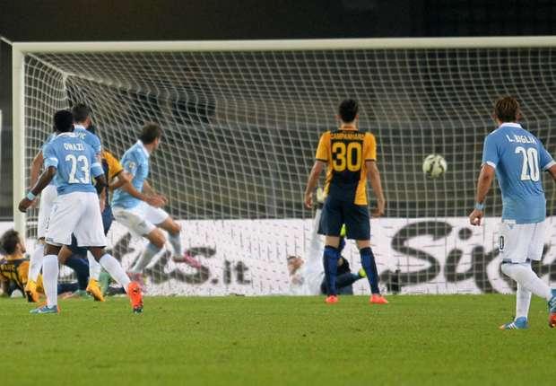 Lulics Treffer reichte Lazio nur zu einem Punkt gegen Verona