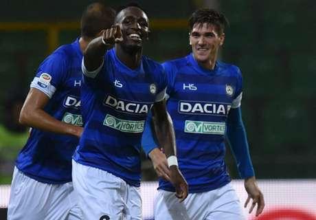 Fofana, 2 goal per prendersi l'Udinese