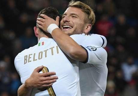 Italia a tutto 4-2-4: Belotti+Immobile