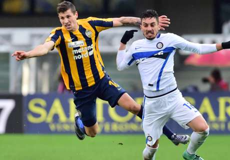 Hellas-Inter Berakhir Sengit