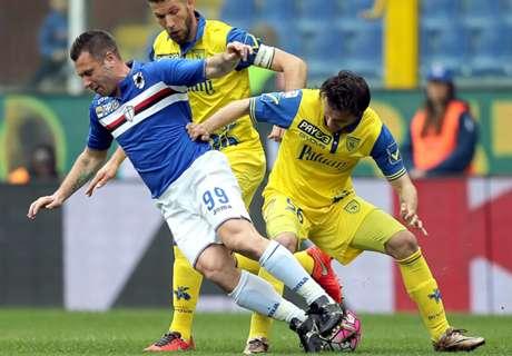 Sampdoria-Chievo 2-0: Muriel e Quaglia