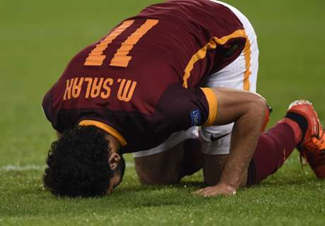 Roma, Salah in forse per il Real Madrid