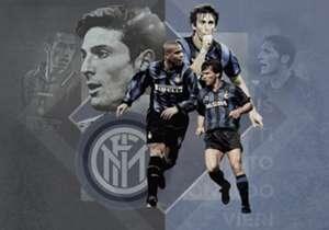 Scopri con noi i 20 giocatori che hanno fatto la storia dell'Inter e che hanno fatto esultare negli anni i tifosi nerazzurri con le loro prodezze