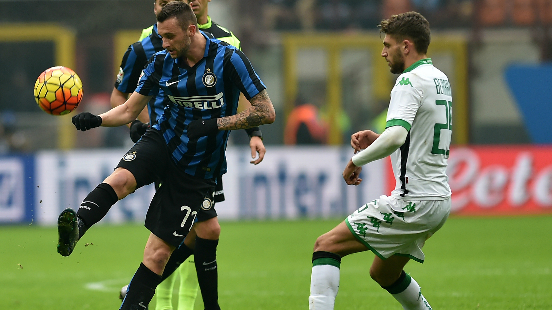 Video: Inter Milan vs Sassuolo