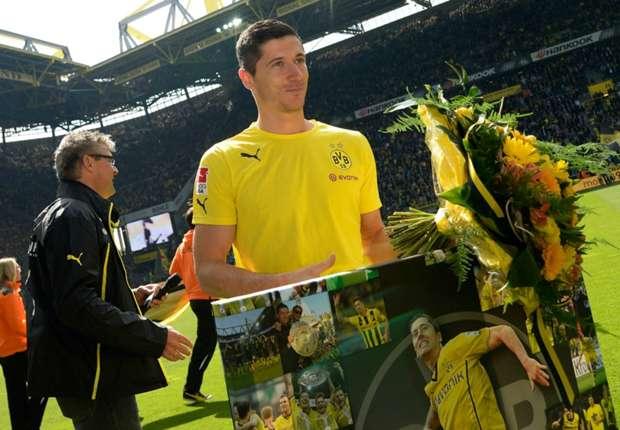 Robert Lewandowski sagt Danke und die Fans ebenso