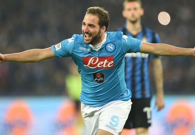 Naples-Inter 2-1, Naples prend les commandes
