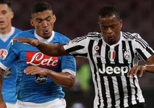 Allan Evra Napoli Juventus Serie A