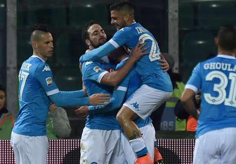 Serie A TIM: Napoli siegt in Palermo