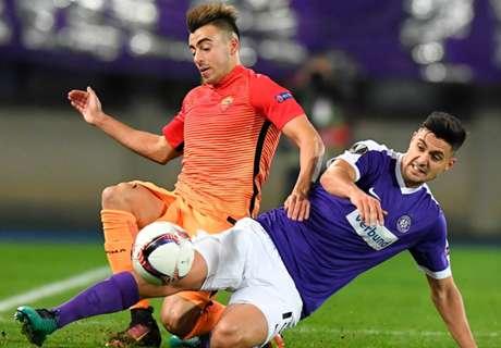 Dzeko shines in comfortable Roma win