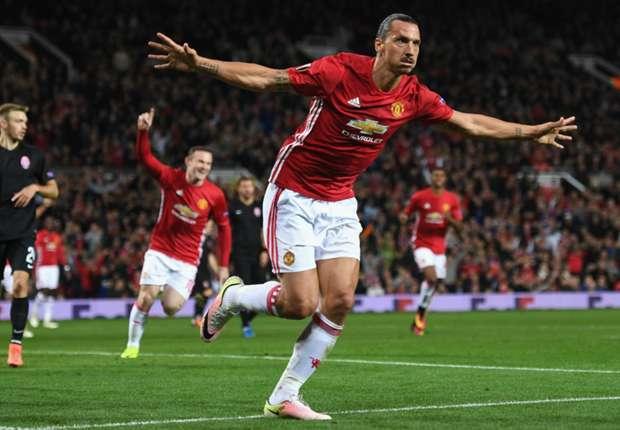 Ibrahimovic scores 25,000th Premier League goal