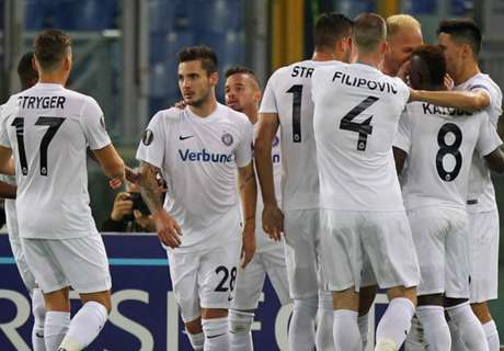 UEL: Roma 3-3 Austria Viena