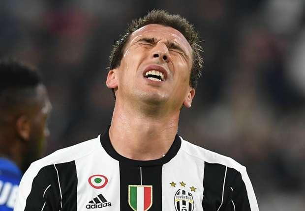 Injured Mandzukic to miss Juventus' Champions League clash with Lyon