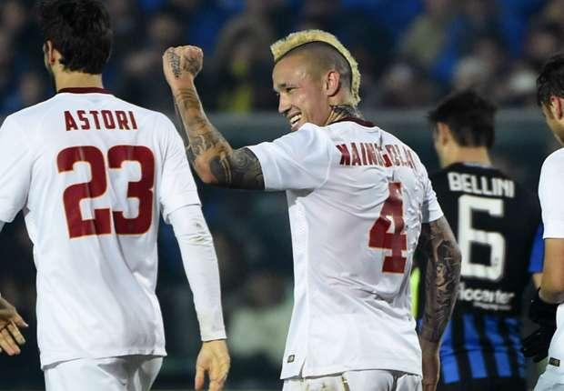 Atalanta 1-2 Roma: Ljajic and Nainggolan seal comeback