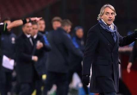 Mancini sanctionné