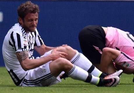 Cortado! Marchisio está fora da Euro