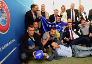 En un día histórico para Kosovo, esta se ha unido oficialmente a la UEFA. La selección nacional, que hasta entonces había jugado sólo partidos amistosos, participará en la próxima competición europea. ¿Cómo será el once de Kosovo?