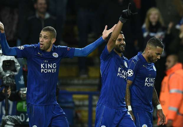 Magic man Mahrez carrying Leicester's Champions League dream on
