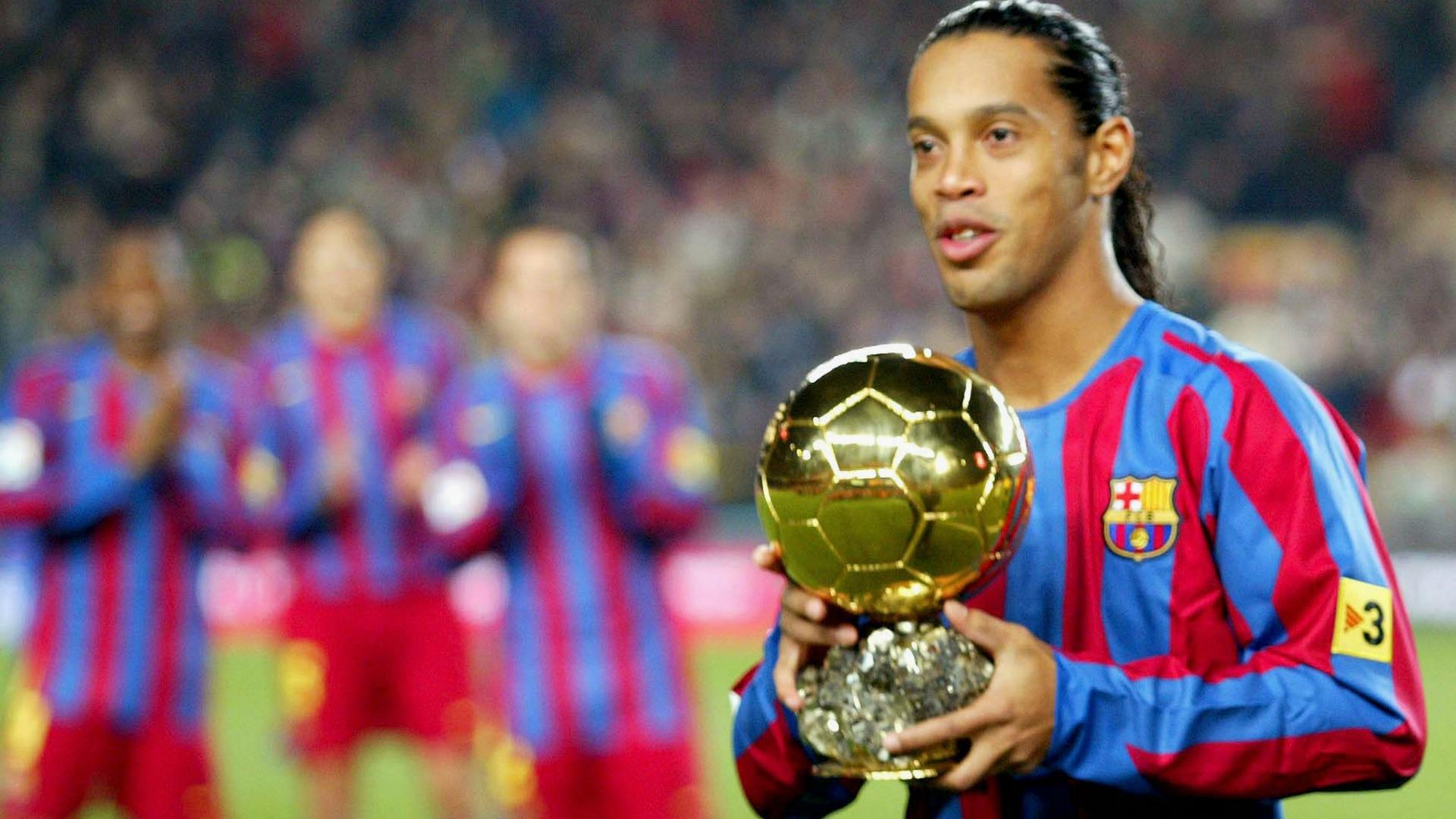 Ronaldinho better than Zidane, Pele and Maradona
