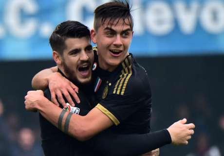 Chievo - Juve 0-4, résumé du match