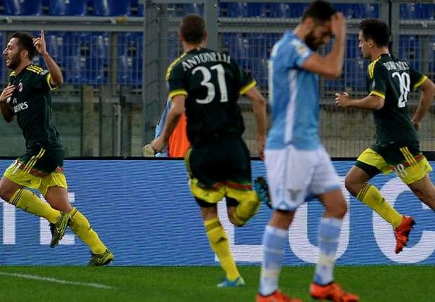 Video: Lazio vs AC Milan