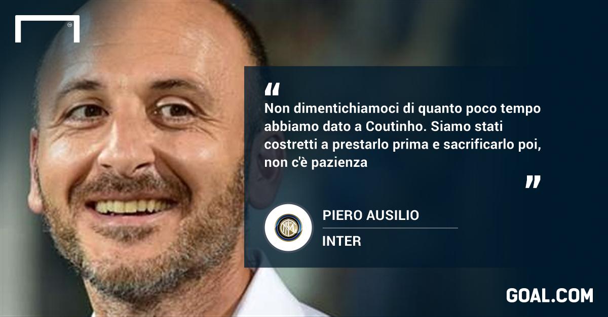 Inter, Ausilio: Pioli scelta giusta, derby occasione per svoltare