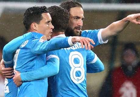 Naples-Atalanta Bergame 2-1, résumé de match
