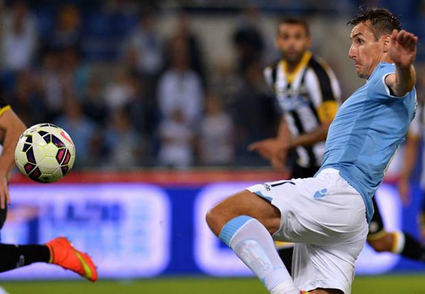 Miroslav Klose spielte die kompletten 90 Minuten durch