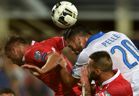 Eliminatorias: Italia 1-0 Malta