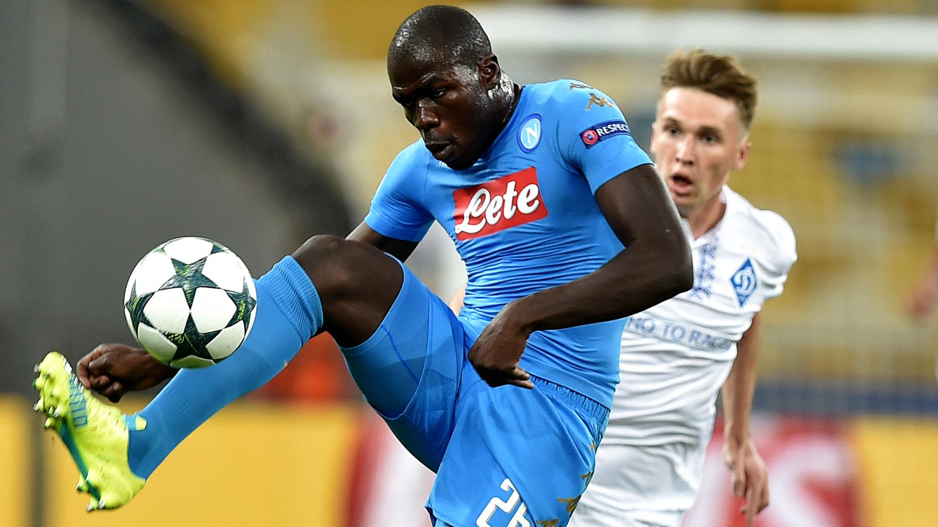 Kalidou Koulibaly Dinamo Kiev Napoli Champions League