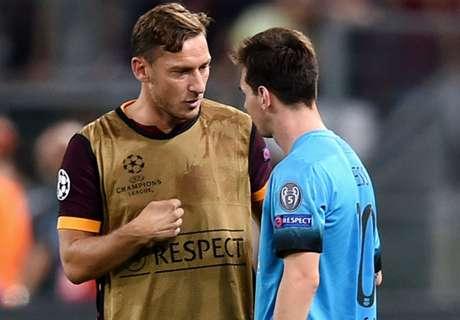 Messi a Totti: