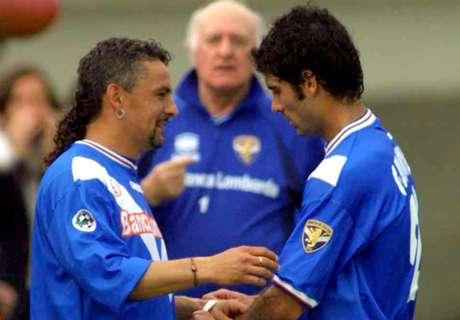 Auguri Roby: i 50 anni di Baggio in 50 scatti