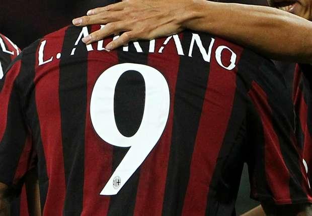 Il Milan 'sfila' la 9 a Luiz Adriano: in arrivo un grande bomber?