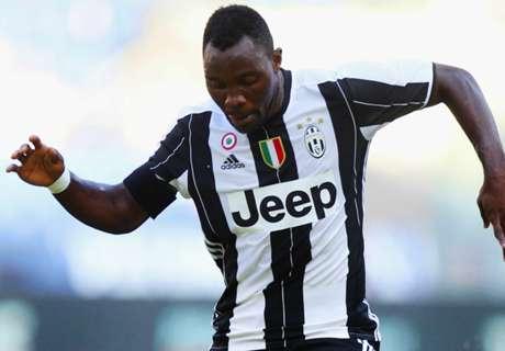 Kwadwo Asamoah plays as Juventus win