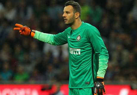 Handanovic happy to face the best