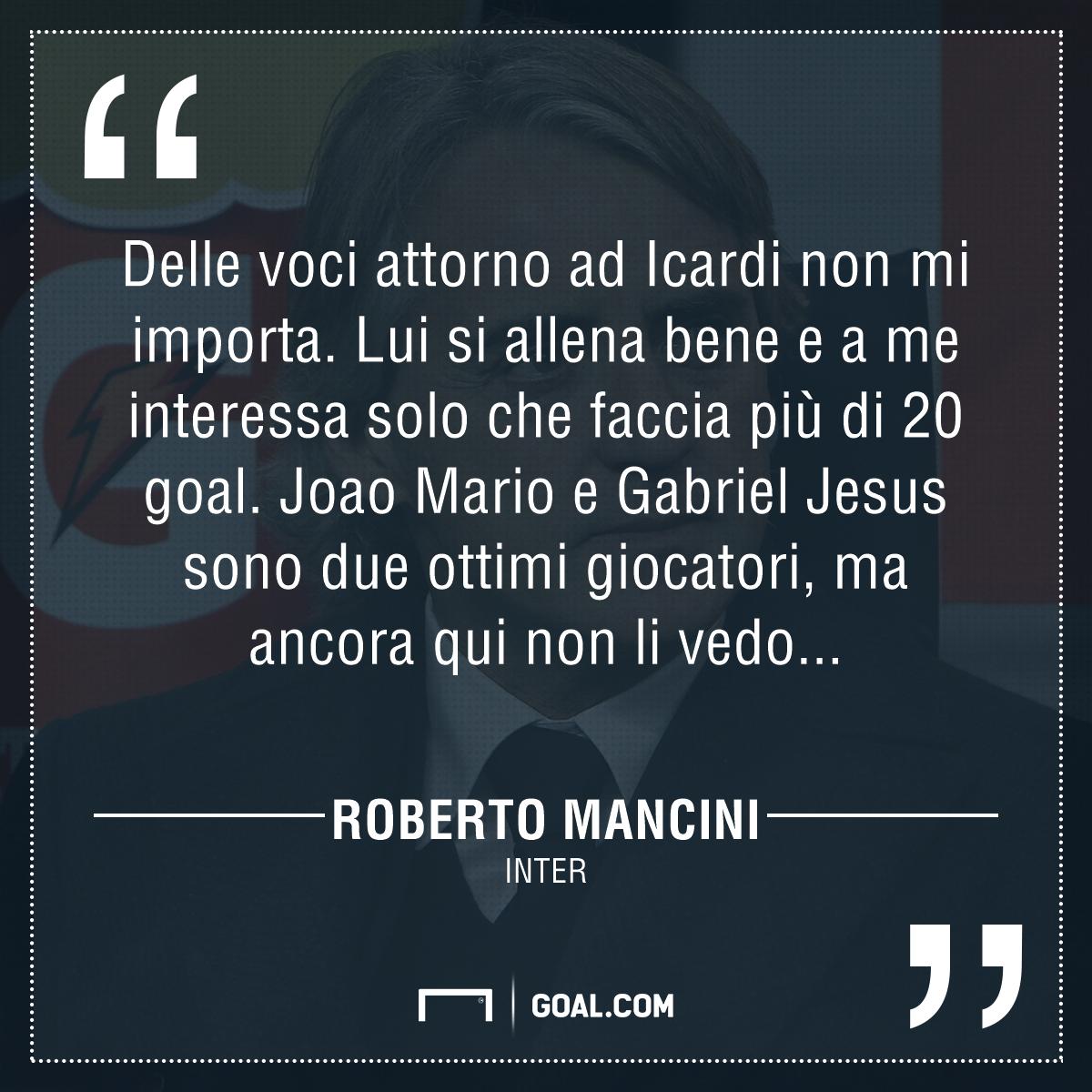 Mancini, il mio rinnovo non è importante