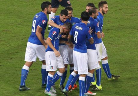 Eliminatorias   Italia 2-1 Noruega