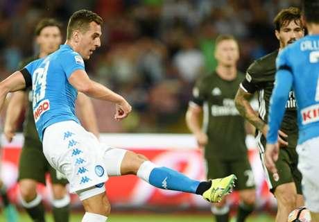 Naples-Milan 4-2, résumé de match