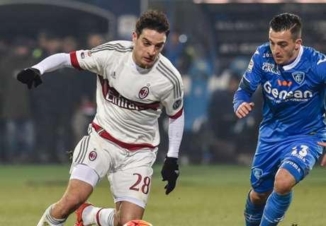 RATINGS: Empoli 2-2 Milan