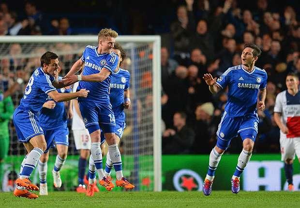 Chelsea jubelt über den Halbfinal-Einzug