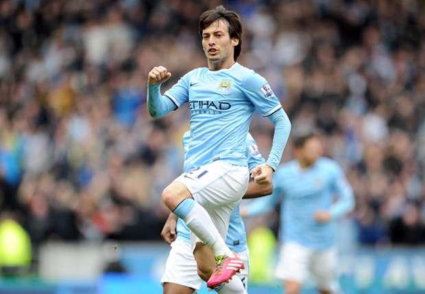 David Silva will mit City noch den Titel holen