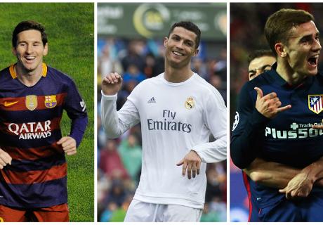 Weltfußballer: Die Top-3 stehen fest