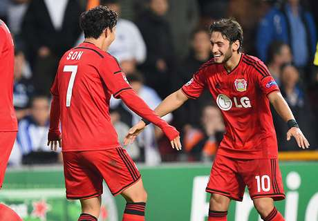 UCL: Copenhagen 2 x 3 Leverkusen