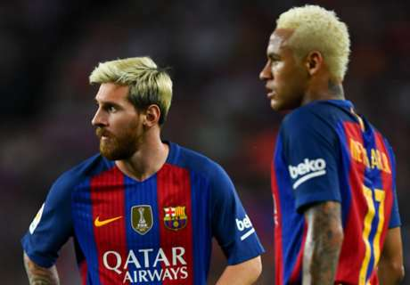 Voting: Messi 11th; Neymar out!