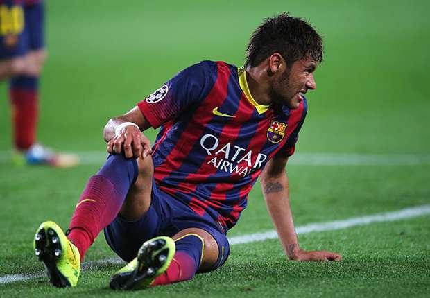 Noch läuft nicht alles rund. Barcas Neymar