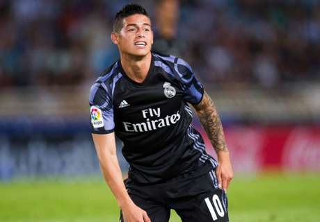 RUMOURS: Madrid reject James bid
