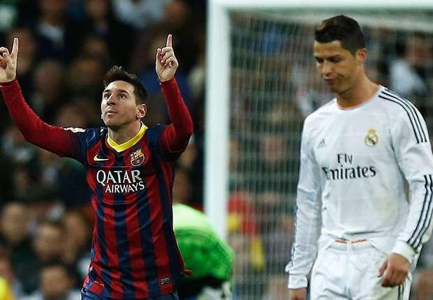 Gegen Real Madrid war Lionel Messi mit einem Hattrick erfolgreich