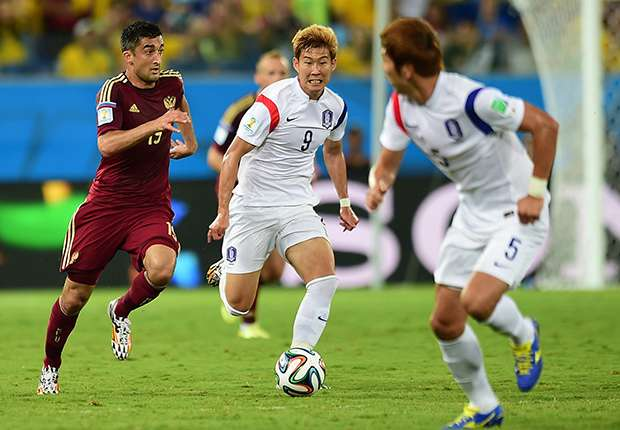 Son Heung-Min Korea World Cup 17062014